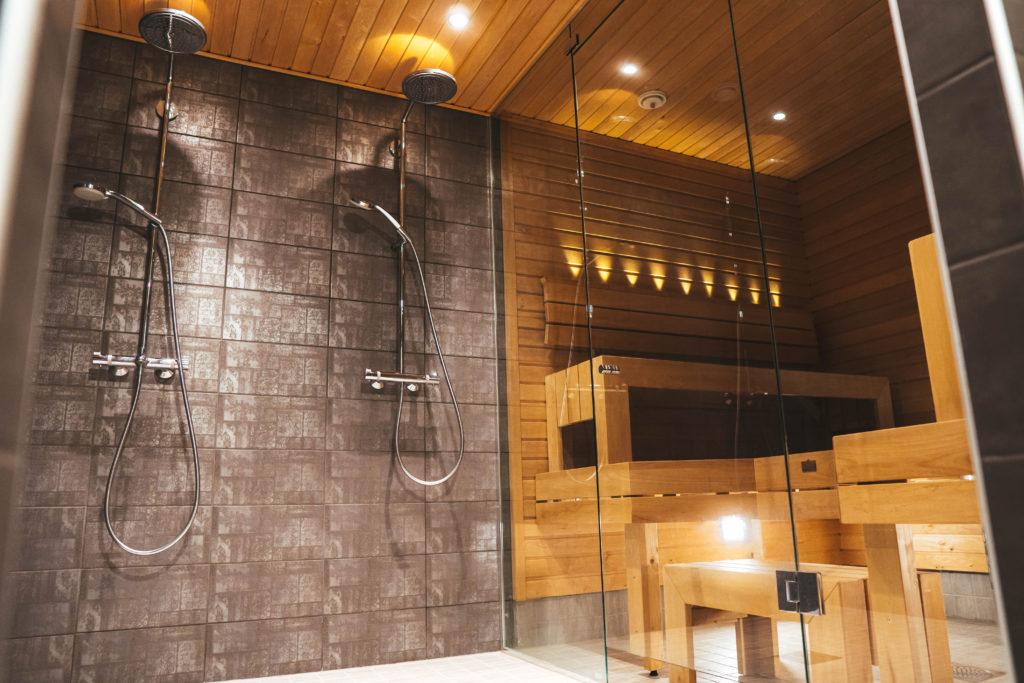 suihkut ja sauna